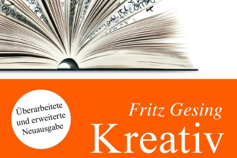 """Buchtipp (nicht nur) für Autoren: """"Kreativ schreiben"""" von Fritz Gesing"""