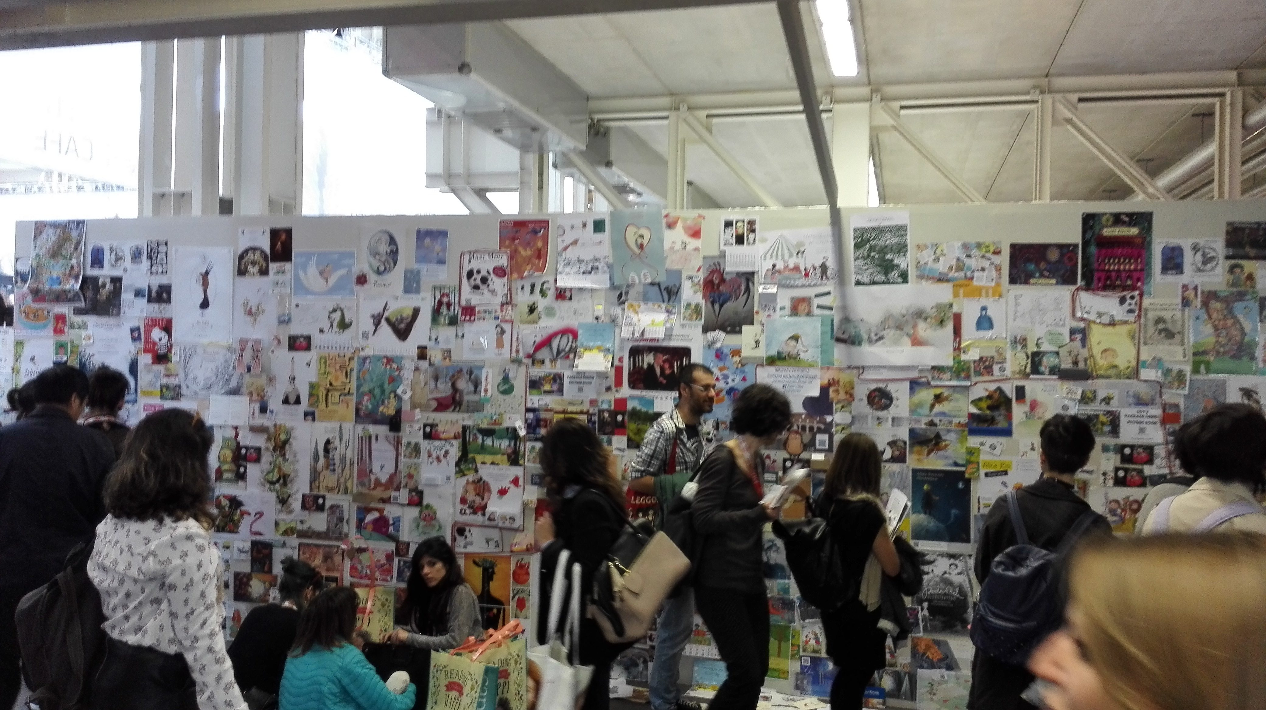 #Lektorenalltag – Kinderbuchmesse in Bologna
