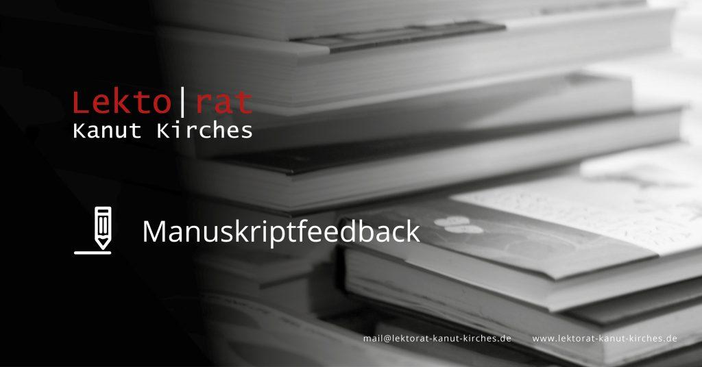 Professionelles Manuskriptfeedback