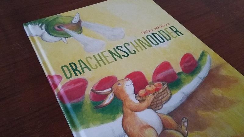 Lieblingsprojekte: Kinderbuch Drachenschnodder_Cover