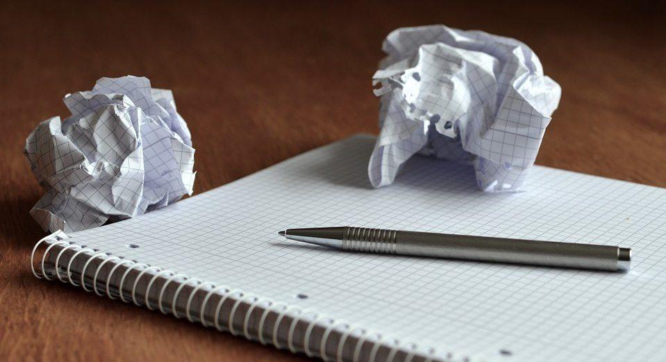 Schreibblockade – Was tun?