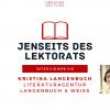 Jenseits des Lektorats: Literaturagentin Kristina Langenbuch im Interview